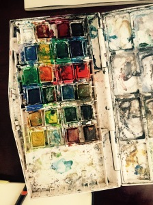 The Watercolor Palette